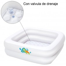 PISCINA INFANTIL CUADRADA 86X86X25 CM