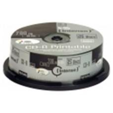 Intenso CD-R 700MB 52x Printable Tarrina 25Uds