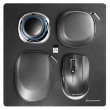 3Dconnexion SpaceMouse Wireless Kit 2 ratón Ambidextro RF Wireless+USB Type-A 6DoF (Espera 4 dias)