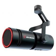 AVerMedia AM330 (XLR MIC) micrófono Negro Micrófono para PC (Espera 4 dias)