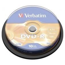 DVD-R VERBATIM 4.7GB 10U