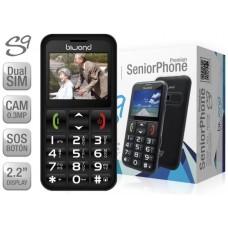 Biwond S9 Dual SIM SeniorPhone Negro (Espera 2 dias)
