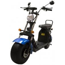 CityCoco Matriculable (II) 1.55KW/20AH (Doble Batería Opcional) Azul Negro (Espera 2 dias)