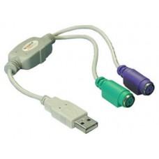 ADAPTADOR DELOCK USB A PS/2 (Espera 4 dias)