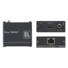 Kramer Electronics HDMI over Twisted Pair Transmitter Transmisor de señales AV Negro (Espera 4 dias)