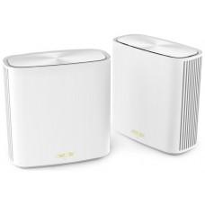 ASUS XD6 (W-1-PK) Doble banda (2,4 GHz / 5 GHz) Wi-Fi 6 (802.11ax) Blanco 4 Interno (Espera 4 dias)