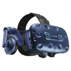 HTC VIVE Pro Eye Pantalla con montura para sujetar en la cabeza Negro, Azul (Espera 4 dias)