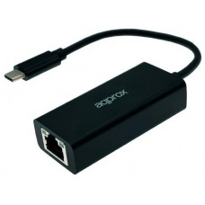 ADAPTADOR DE RED GIGALAN A USB TYPE A APPROX APPC43
