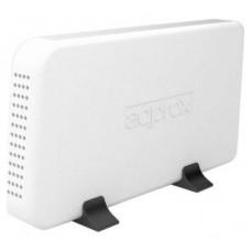 """approx! appHDD08W Caja Ext.3.5""""USB 3.0 SATA Blanca"""