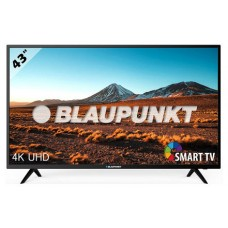 BLAUPUNKT TV 43'' (BS43U3012OEB) 4K ULTRA HD TV 2160P DVB-T/T2/C/S/S2,HEVC/USB MULTIMEDIA (Espera 4 dias)