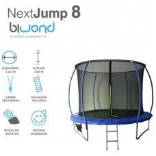 Trampolín Cama Elástica 2.44m NextJump 8 Biwond Azul (Espera 2 dias)