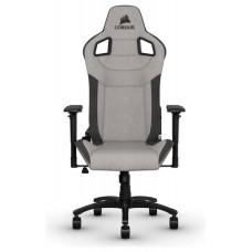 Corsair CF-9010031-WW silla para videojuegos Silla para videojuegos de PC Asiento acolchado Negro, Gris (Espera 4 dias)