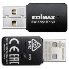 ADAPTADOR RED EDIMAX EW-7722UTNV3 USB2.0