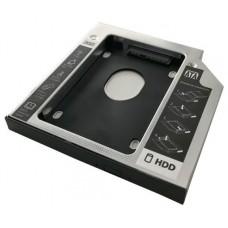 ADAPTADOR 3GO HDD-SSD PORTATIL 12.7MM