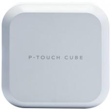 Brother Rotuladora Electrica PTP710BT Cube Blanca